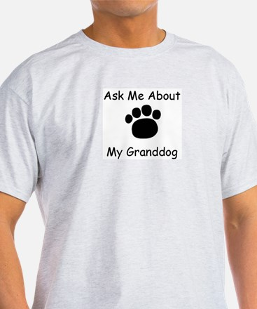Granddog Ash Grey T-Shirt