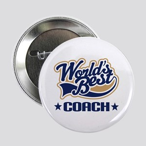 "Worlds Best Coach 2.25"" Button"