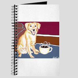 Golden Coffee Dog Journal