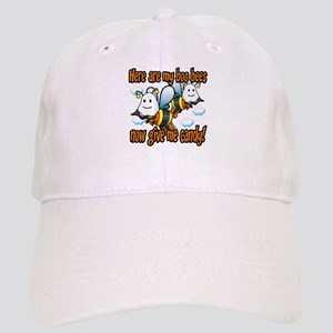 Here are my Boo Bees Cap