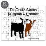 I'm Crazy About Pumpkin And Cookie Puzzle