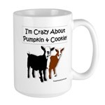 I'm Crazy About Pumpkin and Cookie Mugs