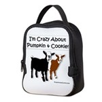 I'm Crazy About Pumpkin And Neoprene Lunch Bag