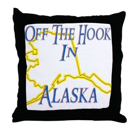 Off The Hook Throw Pillow