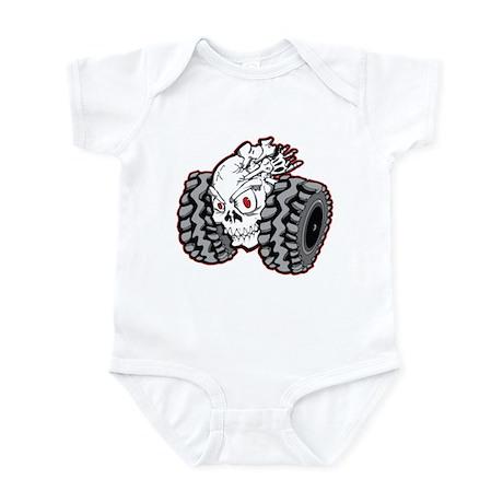Skull Roller Infant Bodysuit