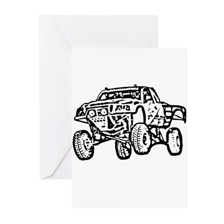 truck Greeting Cards (Pk of 10)