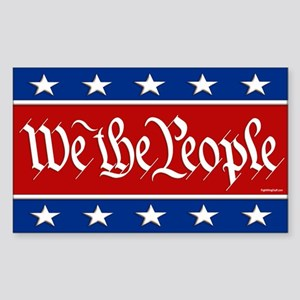 We The People Sticker (Rectangle)
