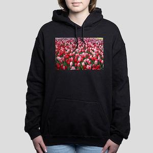 Red & Pink Tulips Holland Netherlands Sweatshirt