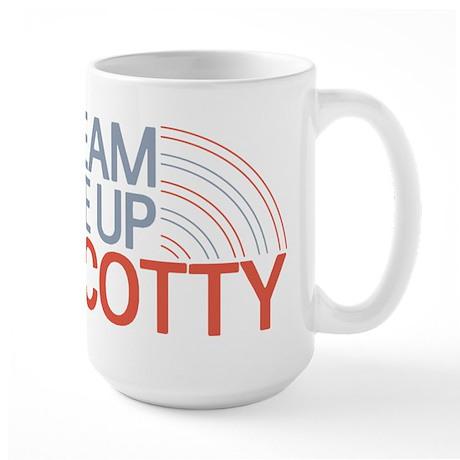 Beam Me Up Scotty Large Mug