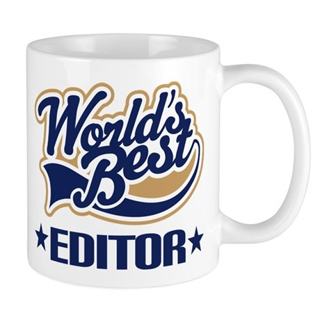 Worlds Best Editor Mug