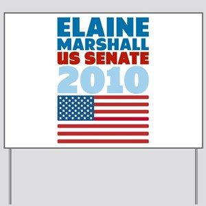 Marshall Senate 2010 Yard Sign