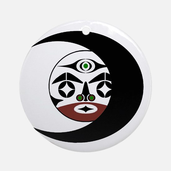 FACE WITHIN Round Ornament