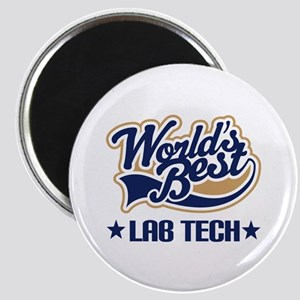 Worlds Best Lab Tech Magnet