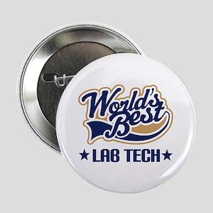 """Worlds Best Lab Tech 2.25"""" Button"""