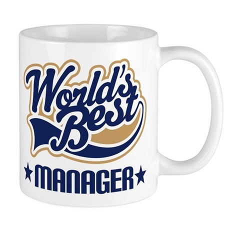 Worlds Best Manager Mug