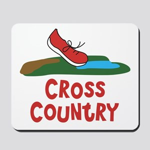 Cross Country Run Mousepad
