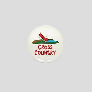 Cross Country Run Mini Button