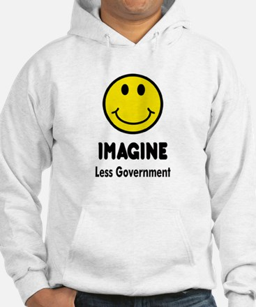 Cute Less government Hoodie