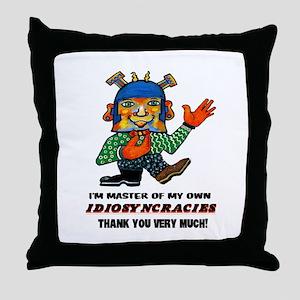 FunCrazyMe! Throw Pillow