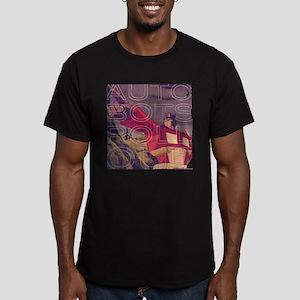 Transformers Vintage R Men's Fitted T-Shirt (dark)