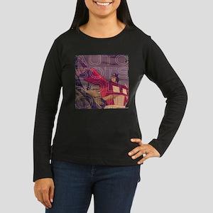 Transformers Vint Women's Long Sleeve Dark T-Shirt