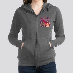 Transformers Vintage Roll Out Women's Zip Hoodie
