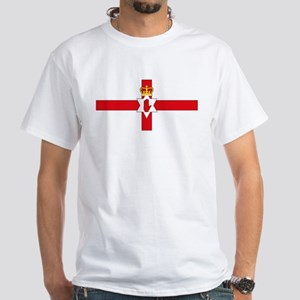 Northern Ireland Flag White T-Shirt