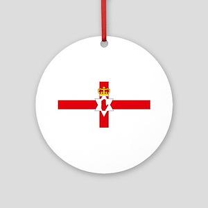Northern Ireland Flag Ornament (Round)