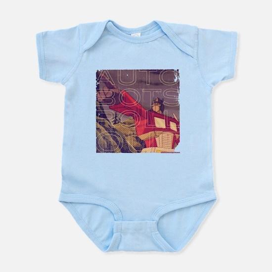 Transformers Vintage Roll Out Infant Bodysuit
