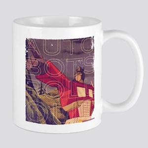 Transformers Vintage Roll Out 11 oz Ceramic Mug