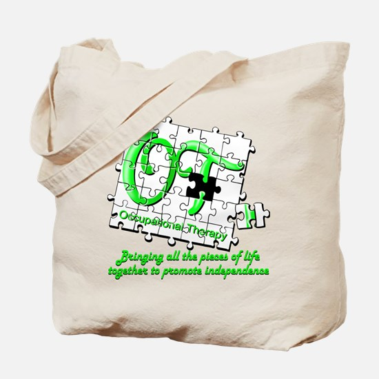 Cute Occupational therapy assistant Tote Bag