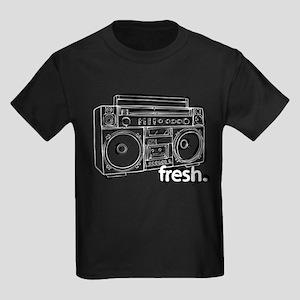 FRESH BOOMBOX Kids Dark T-Shirt