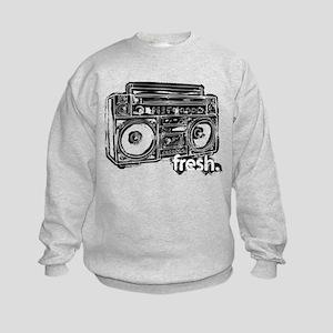 FRESH BOOMBOX Kids Sweatshirt