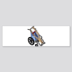Crutches Wheelchair Sticker (Bumper)