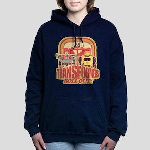 Transformers Retro Roll Women's Hooded Sweatshirt