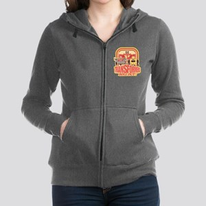 Transformers Retro Roll Out Women's Zip Hoodie