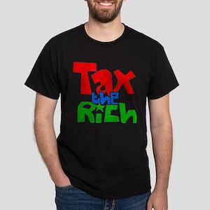 Tax the Rich Dark T-Shirt