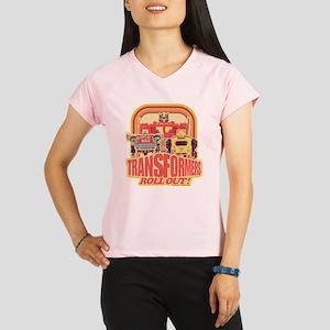 Transformers Retro Roll Ou Performance Dry T-Shirt
