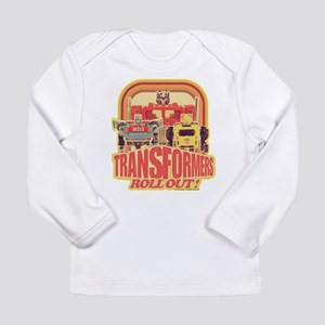 Transformers Retro Roll Long Sleeve Infant T-Shirt