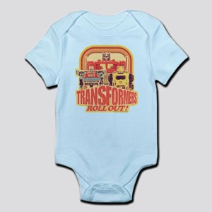 Transformers Retro Roll Out Infant Bodysuit
