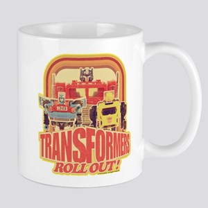 Transformers Retro Roll Out 11 oz Ceramic Mug