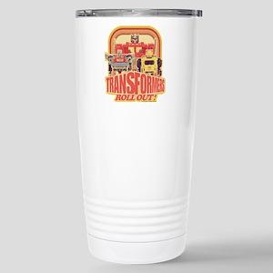 Transformers Retr 16 oz Stainless Steel Travel Mug