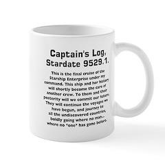Capt.'s Log Stardate 9529.1. Mug