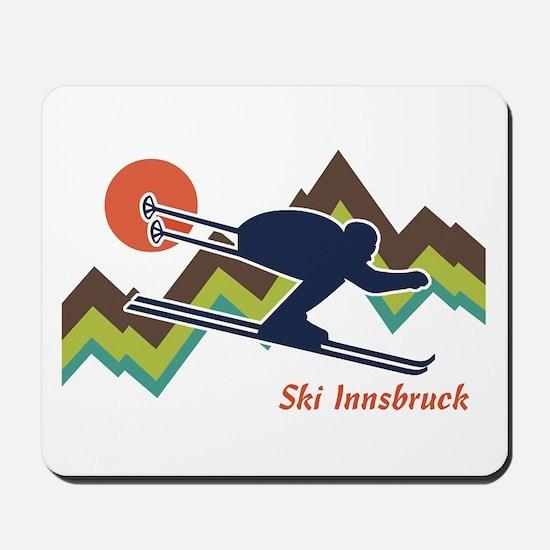 Ski Innsbruck Mousepad