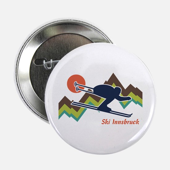 "Ski Innsbruck 2.25"" Button"