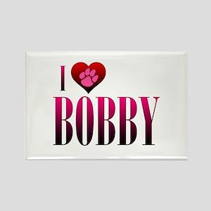 I Heart Bobby Rectangle Magnet