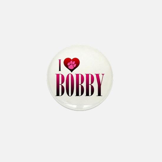 I Heart Bobby Mini Button