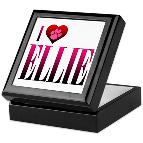 I Heart Ellie Keepsake Box