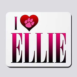 I Heart Ellie Mousepad