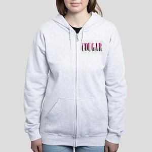 Cougar Women's Zip Hoodie